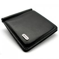 Зажим для купюр кожаный магнитный Desisan 208-1