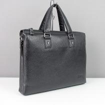 Портфель кожаный модерн для ноутбука Prada 1096-1