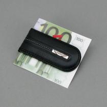Зажим для купюр кожаный магнит Prensiti 77018