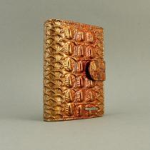Визитница кожаная женская застежка Lison Kaoberg 47567b
