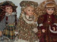 Коллекционные фарфоровые куклы — новинки на просторах «Острова Красоты»