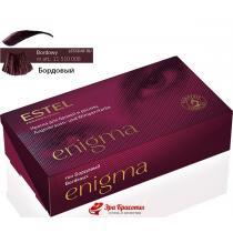 Краска для бровей и ресниц EN 7 бордовый Enigma Estel, 20/20 мл