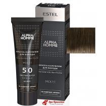 Краска-камуфляж для бороды 5/0 светлый шатен Alpha Homme Estel, 40 мл
