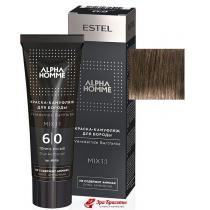 Краска-камуфляж для бороды 6/0 темно русый Alpha Homme Estel, 40 мл