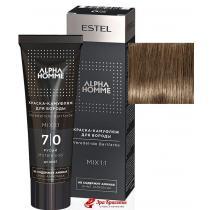 Краска-камуфляж для бороды 7/0 русый Alpha Homme Estel, 40 мл