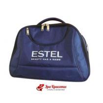 Саквояж-овал с логотипом Estel, 40*30*24 см