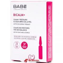 Ампулы-концентрат с антикуперозным действием и от раздражений на коже Bicalm+ Ampule Solution Babe Laboratorios, 2*2 мл