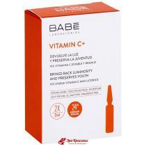 Ампулы-концентрат для депигментации с антиоксидантным эффектом Vitamin C+ Ampule Solution Babe Laboratorios, 10*2 мл