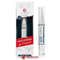 Гель отбеливающий для зубов Whitening 6% Oral Care Global Whitre, 5 мл