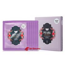 Гидрогелевая маска для лица с жемчугом и маслом Ши Koelf Pearl and Shea Butter Hydro Gel Mask, 30 г*5 шт