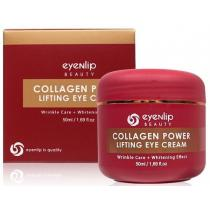 Крем для глаз с гидролизованным коллагеном Eyenlip Collagen Power Lifting Eye Cream, 50 мл