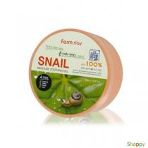 Гель для тела успокаивающий улиточный Eyenlip Snail Soothing Gel, 300 мл