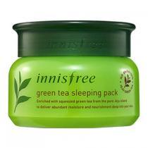 Маска увлажняющая ночная с экстрактом зеленого чая Innisfree Green Tea Sleeping Mask, 80 мл