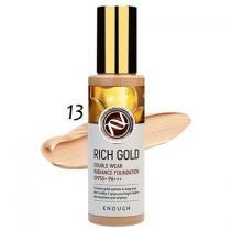 Тональный крем с золотом Тон 13 Enough Rich Gold Double Wear Radiance Foundation SPF50+, 100 мл