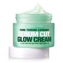 Крем для сужения пор увлажняющий So Natural Pore Tensing Carbonic Sebum Cut Glow Cream, 50 мл