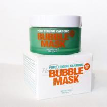 Маска для лица глиняно-кислородная So Natural Pore Tensing Carbonic Bubble Pop Clay Mask, 130 г