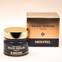 Крем для лица с коллоидным золотом и муцином улитки Medi-Peel 24k Gold Snail Repair Cream, 50 г