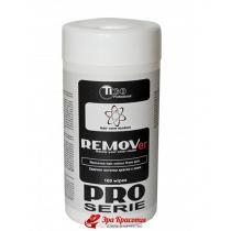 Влажные салфетки для удаления остатков краски с кожи головы Tico Professional PRO Series, 100 шт.