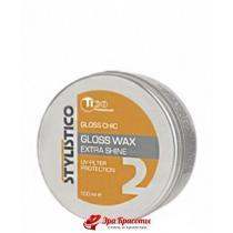Воск для укладки и блеска волос Tico Professional Stylistico Gloss Chic Wax, 100 мл