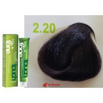 Безаммиачная крем-краска для волос 2.20 Брюнет с фиолетовым отливом Nouvelle Touch, 60 мл