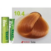 Безаммиачная крем-краска для волос 10.4 Солнечно-желтый Nouvelle Touch, 60 мл