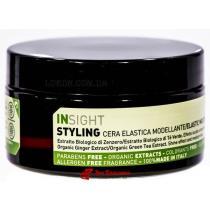 Воск моделирующий для укладки волос Styling Elastic Molding Wax Insight, 90 мл