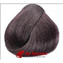 Безаммиачная краска для волос с органовым маслом и кератином Sintesis Colour Cream Ammonia-Free Black Professional 1.12 лилово черный, 100 мл