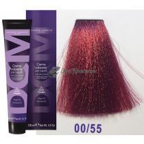 Крем-краска для волос 00/55 микстон красный Hair color cream DCM. 100 мл