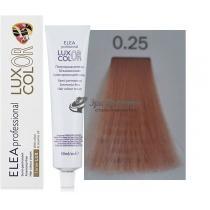 Безаммиачная крем-краска 0.25 фиолетово-махагоновый Color Elea Professional Luxor, 60 мл