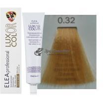 Безаммиачная крем-краска 0.32 золотисто-фиолетовый Color Elea Professional Luxor, 60 мл