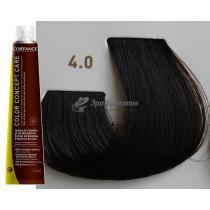 Безаммиачная тонирующая краска для волос 4.0 Каштановый Color Concept Care Coiffance, 100 мл