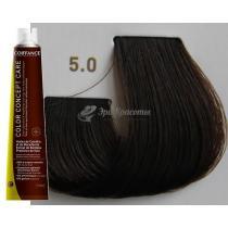 Безаммиачная тонирующая краска для волос 5.0 Светло-каштановый Color Concept Care Coiffance, 100 мл