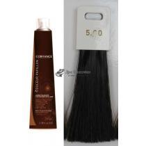 Стойкая краска для волос 5.00 Ультра-натуральный светло-каштановый Color Permanent Papillon Care Coiffance, 100 мл