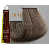 Безаммиачная тонирующая краска для волос 10.12 Очень-очень светлый блондин пепельно-ирисовый Color Concept Care Coiffance, 100 мл