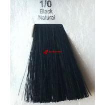 Краска для волос стойкая 1.0 Черный Натуральный Master Lux, 60 мл