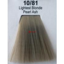 Краска для волос стойкая 10.81 Яркий Блонд Жемчужно-Пепельный Master Lux, 60 мл