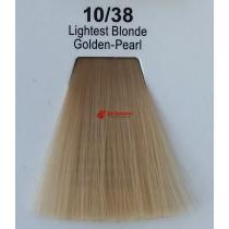 Краска для волос стойкая 10.38 Очень Светлый Блонд Золотисто-Жемчужный Master Lux, 60 мл