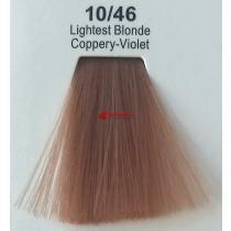 Краска для волос стойкая 10.46 Очень Светлый Блонд Медно-Фиолетовый Master Lux, 60 мл
