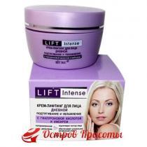 Lift Intense Крем-лифтинг для лица дневной Подтягивание и увлажнение с гиалуроновой кислотой и имбирем Витекс, 45 мл