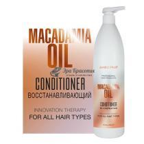 Кондиционер для волос с маслом Макадамии Re-Construction Jerden Proff, 1000 мл