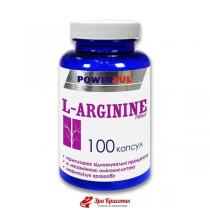 L-аргинин L-Arginin Powerful, капсулы 1,0 г № 100