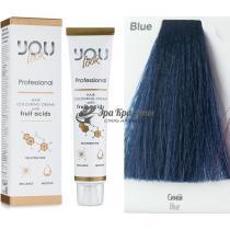 Корректор Blue Синий Hair Colouring Cream You Look, 60 мл