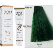 Корректор Green Зеленый Hair Colouring Cream You Look, 60 мл