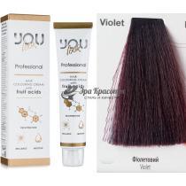 Корректор Violet Фиолетовый Hair Colouring Cream You Look, 60 мл