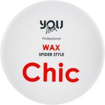 Воск для укладки с эффектом паутинки Chic Wax Spider Style You Look Professional, 100 мл