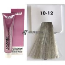 Безаммиачная тонирующая гелевая краска 10.12 блондин пепельно-перламуровый Lacquer Ducastel Subtil, 60 мл