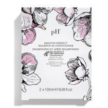 Дорожный набор Идеальная гладкость Шампунь+Кондиционер Flower Duo Kit Smooth Perfect pH Argan&Keratin, 2*100 мл