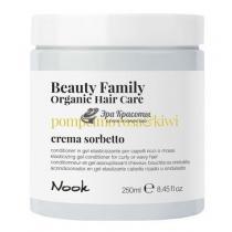 Гель-кондиционер для кудрявых и вьющихся волос Beauty Family Organic Nook, 250 мл