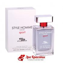 Туалетная вода Style Homme Sport Sterling, 100 мл