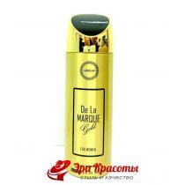 Дезодорант De la Marque Gold Armaf, 200 мл